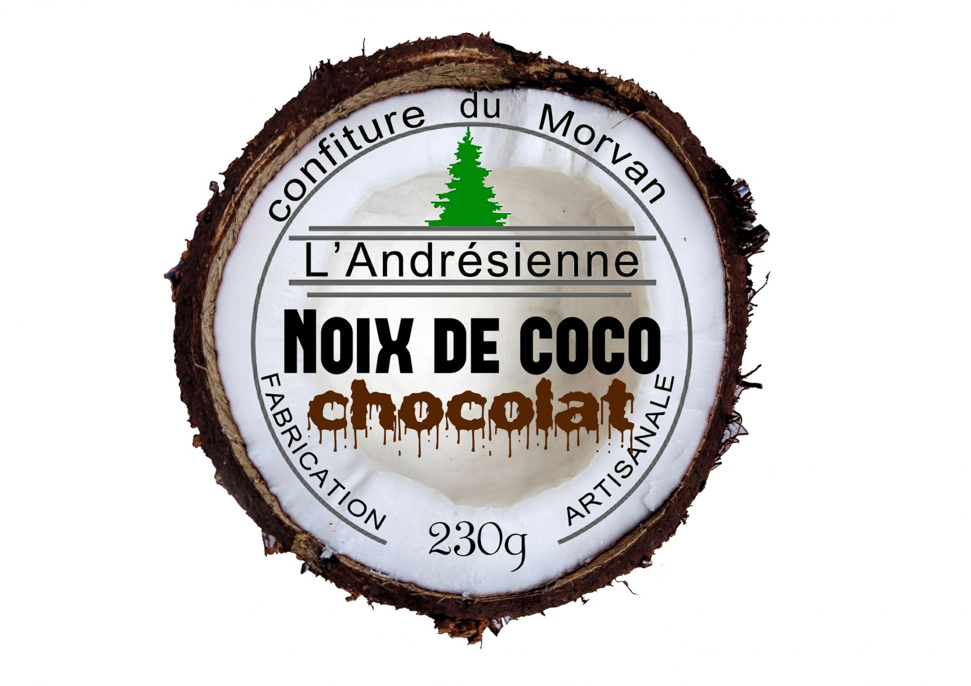 Noix de coco chocolat