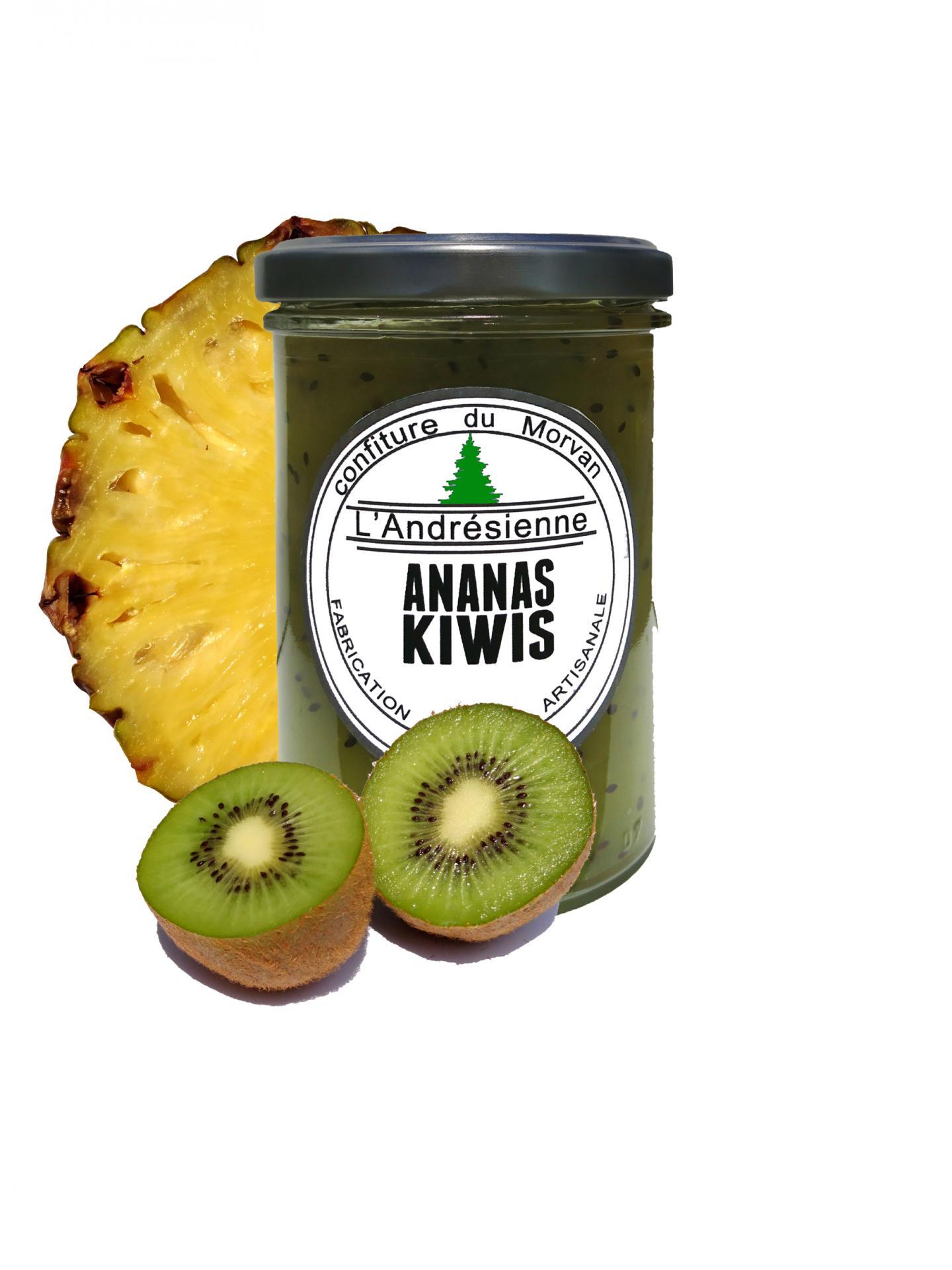 Pot ananas kiwi 02