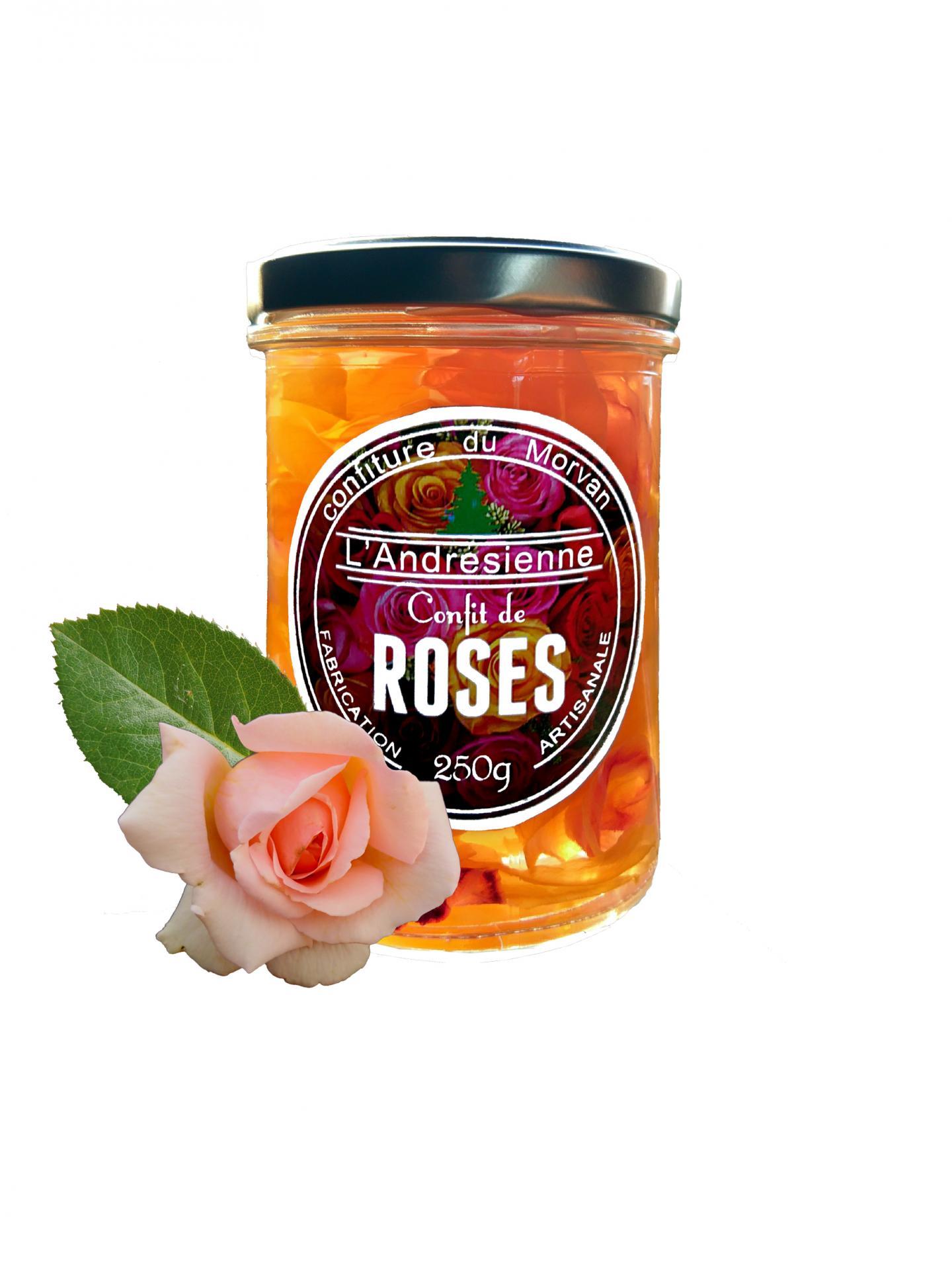Pot confit de roses 02