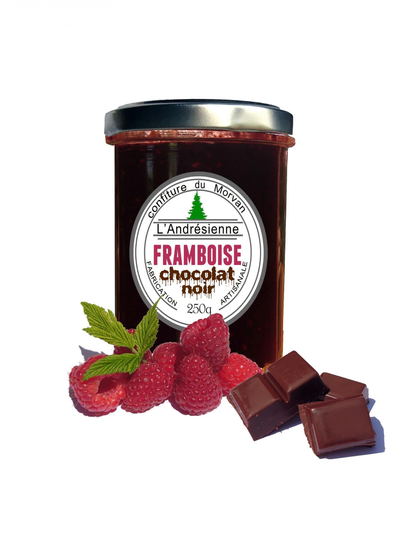 Pot framboise chocolat 3