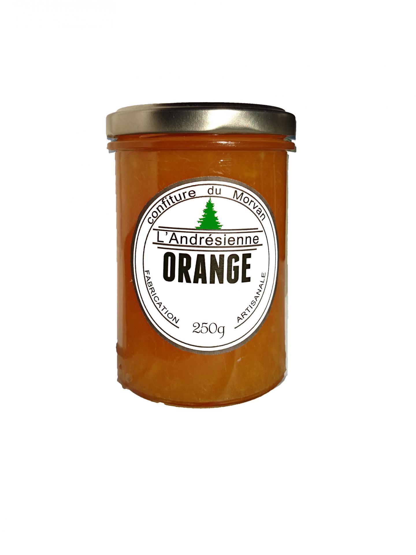 Pot orange 1